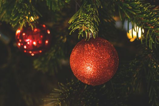 Фото бесплатно рождественское украшение, украшения, дерево