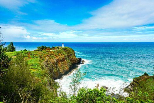 Заставки Остров Кауаи, Гавайи, море