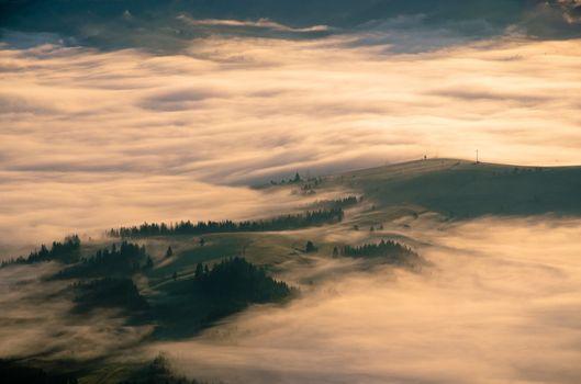 Фото бесплатно холмы, метеорологическое явление, восход солнца
