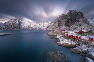 Бесплатные фото Лофотенские острова,Рейн,Reine,Норвегия,Lofoten,Lofoten Islands