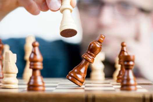 Photo free chessboard, board game, think