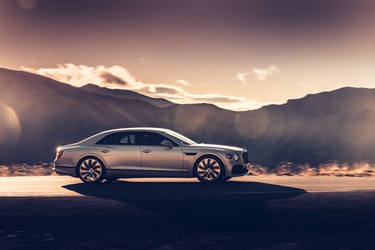 Photo free Bentley Flying Spur, cars 2020 year, Bentley