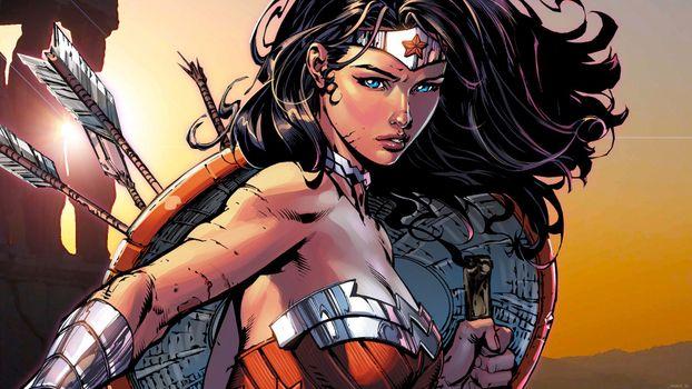 Фото бесплатно Wonder Woman, Dc Comics, картинки