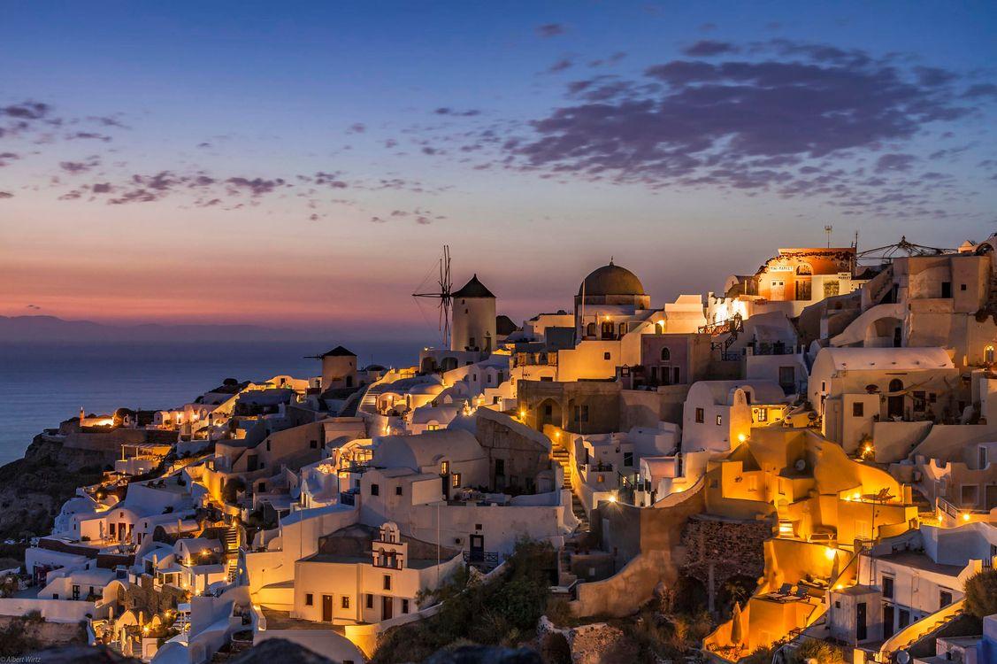 Фото бесплатно Греция, Киклады, Санторини, город