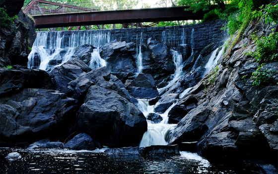 Фото бесплатно водопад, вода, водная характеристика