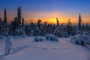 Заставки сугробы, природа, Finland