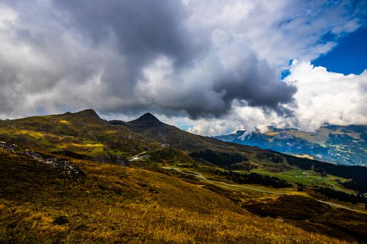 Photo free clouds alps, landscapes, mountains clouds