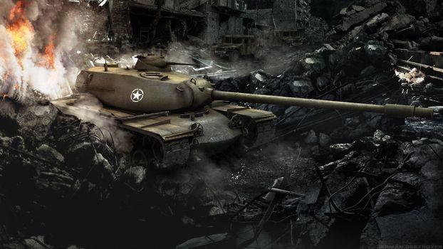 Фото бесплатно 10 уровень, T110e5, мир танков