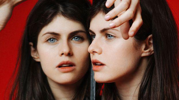 Photo free Alexandra Daddario, brunette, girls