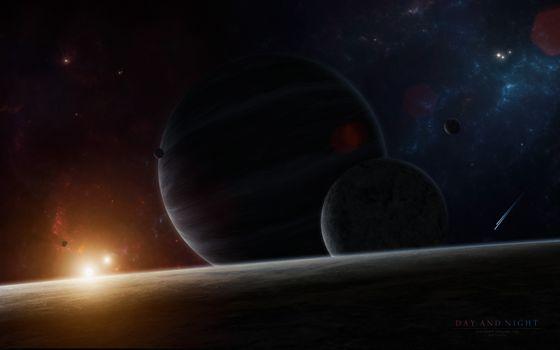 Фото бесплатно цифровая вселенная, научная фантастика, космос