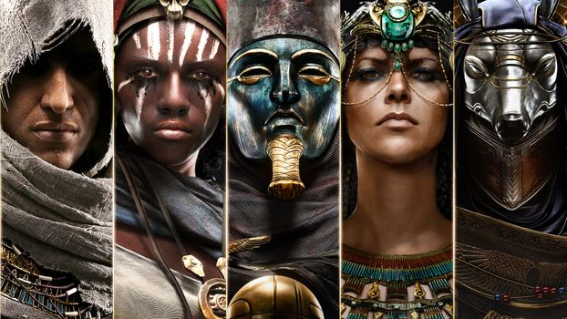 Фото бесплатно Pc Games Assassins Creed Origins игр, Assassins Creed Ps Games Xbox games