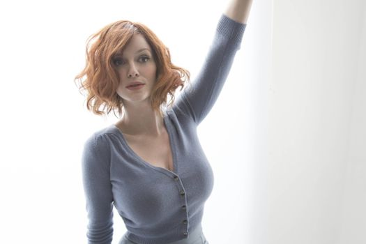 Photo free Christina Hendricks, blouse, celebrities