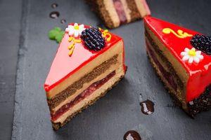 Бесплатные фото десерт,пирожное,крем,украшение