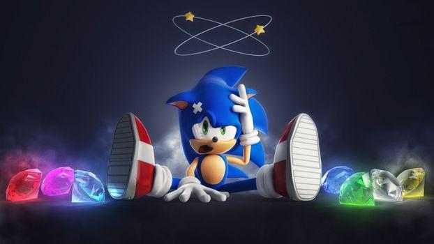 Фото бесплатно искусство, Sonic The Hedgehog, фильмы