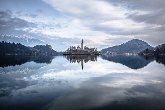 Фото бесплатно Блед Озеро Блед Остров Блед, Озеро Блед, Словения