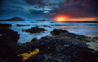 Заставки закат, море, берег