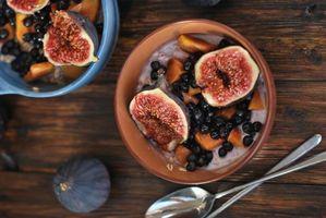 Бесплатные фото завтрак,овсянка,инжир