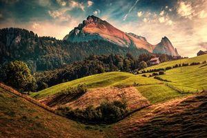 Фото бесплатно Швейцария, Toggenburg, Wildhaus