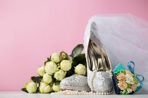 Фото бесплатно свадьба, подарки, бусы