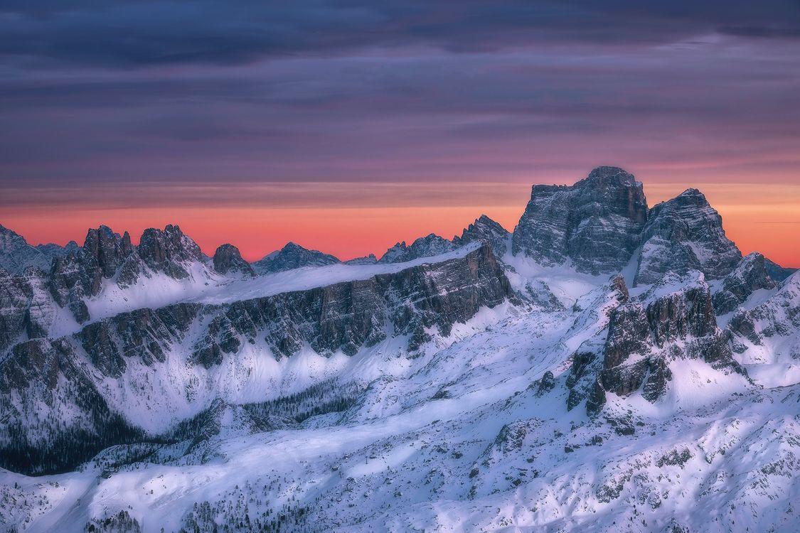 Фото бесплатно Доломитовые Альпы, Ластой де Формин, Пельмо гора - на рабочий стол