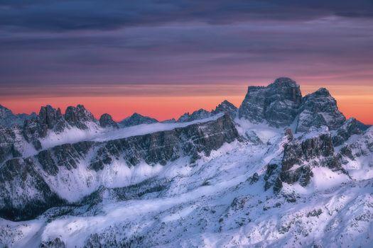 Фото бесплатно Доломитовые Альпы, Ластой де Формин, Пельмо гора