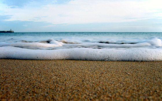 Фото бесплатно горизонт, берег, спокойствие