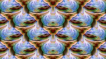 Заставки симметрии, картины, абстрактные