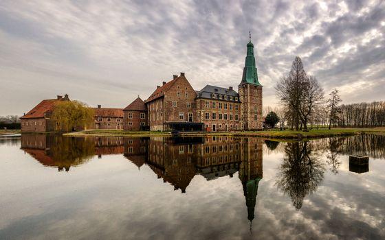 Фото бесплатно замки Германии, реки, пейзажи