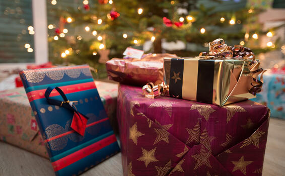 Photo free new year, gifts, elka
