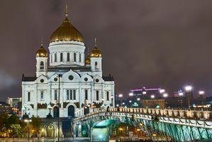 Фото бесплатно Храм Христа Спасителя, Москва, Россия