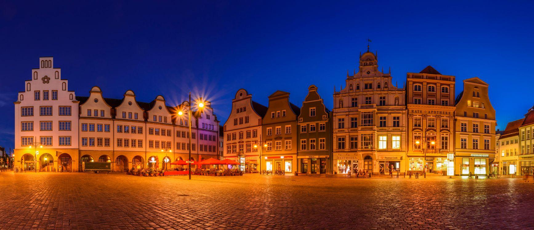Фото бесплатно Мекленбург-Передняя Померания, Германия, Ратуша - на рабочий стол