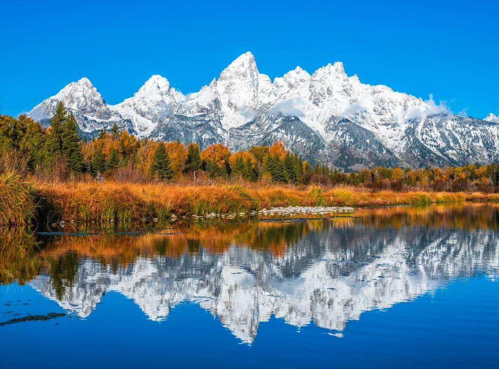 Фото природа США осень - бесплатные картинки на Fonwall