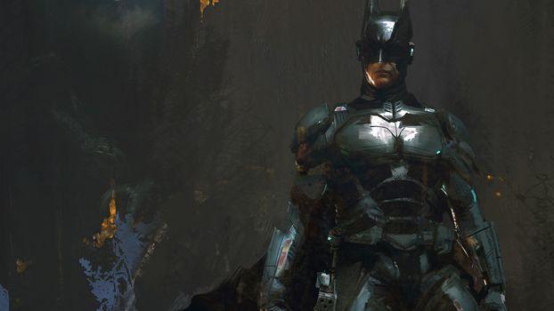 Photo free Batman, artwork, Digital Art