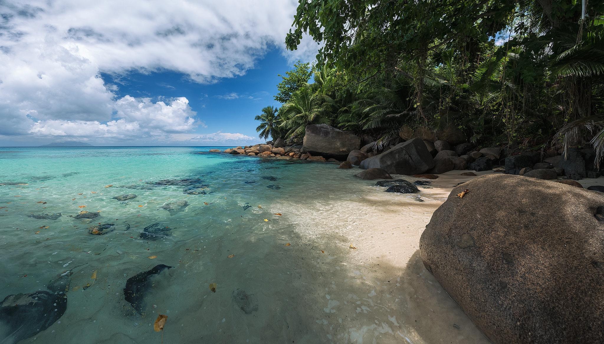 Остров Маэ, Сейшельские острова, море
