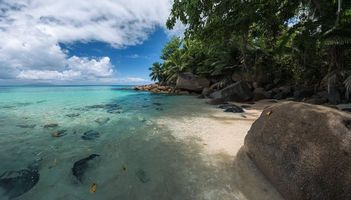 Заставки Остров Маэ, Сейшельские острова, море