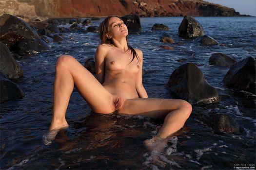 Фото бесплатно сексуальный, море, позирует