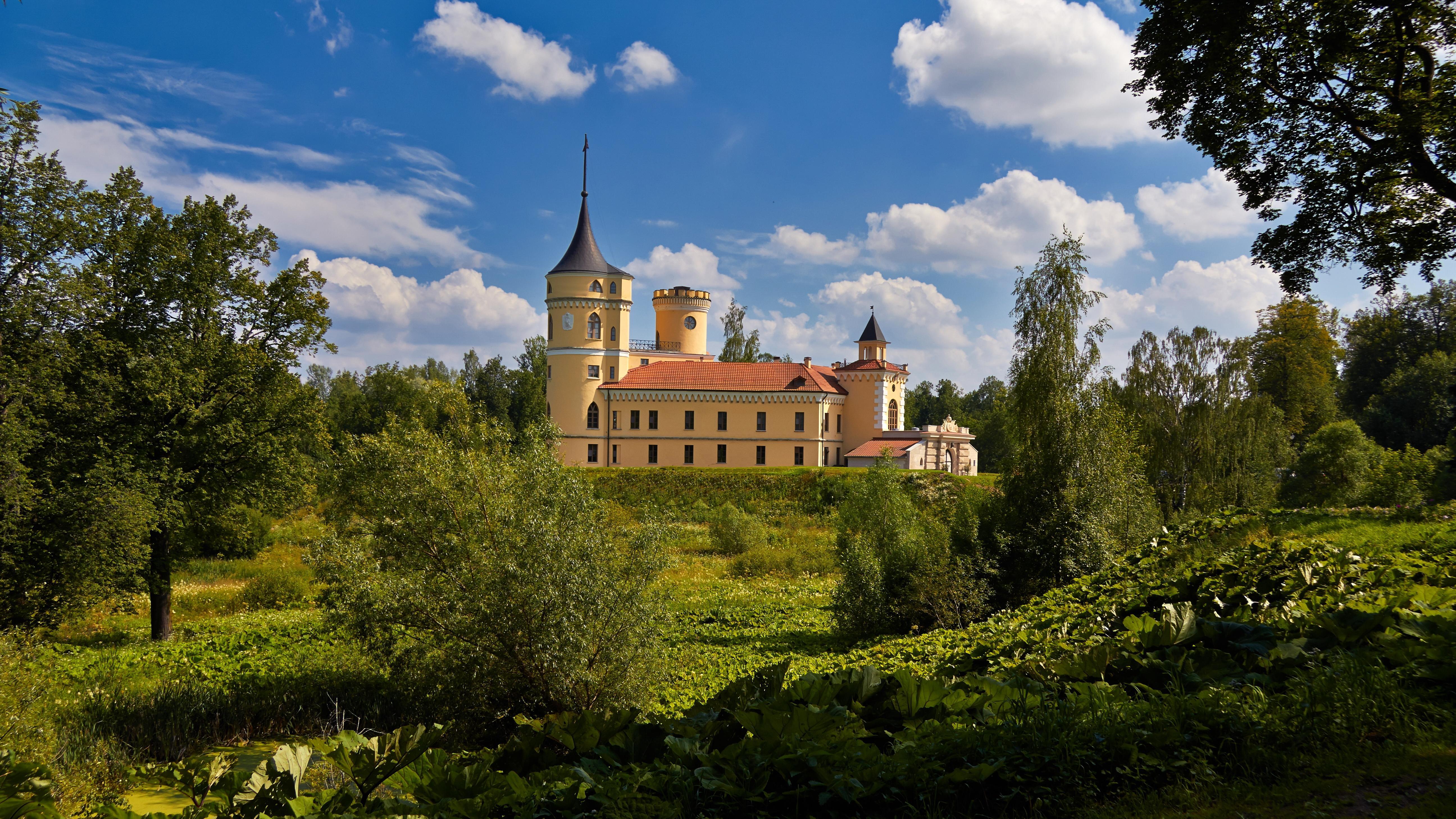 Обои Saint-Petersburg, Pavlovsk Park, Castle Mariental, Санкт-Петербург