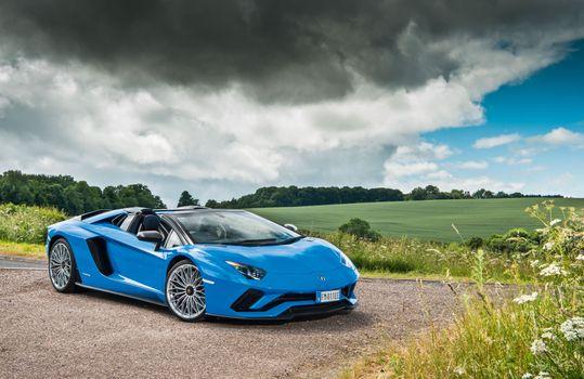 Фото бесплатно Lamborghini, автомобили 2020 года, автомобили