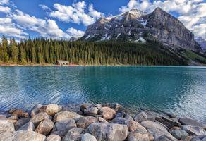 Фото бесплатно Озеро Луиз, Fairview Mountain, Alberta