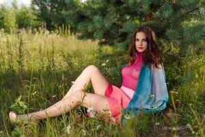 Фото бесплатно сексуальная девушка, модель, Диана
