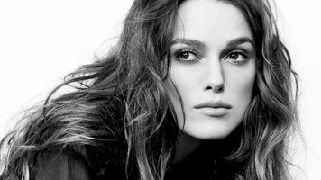 Бесплатные фото keira knightley,актриса,британская,черно-белая,монохромная,лицо,4k
