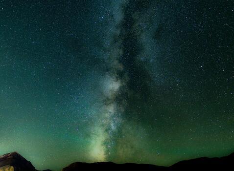 Photo free night, galaxy, nature