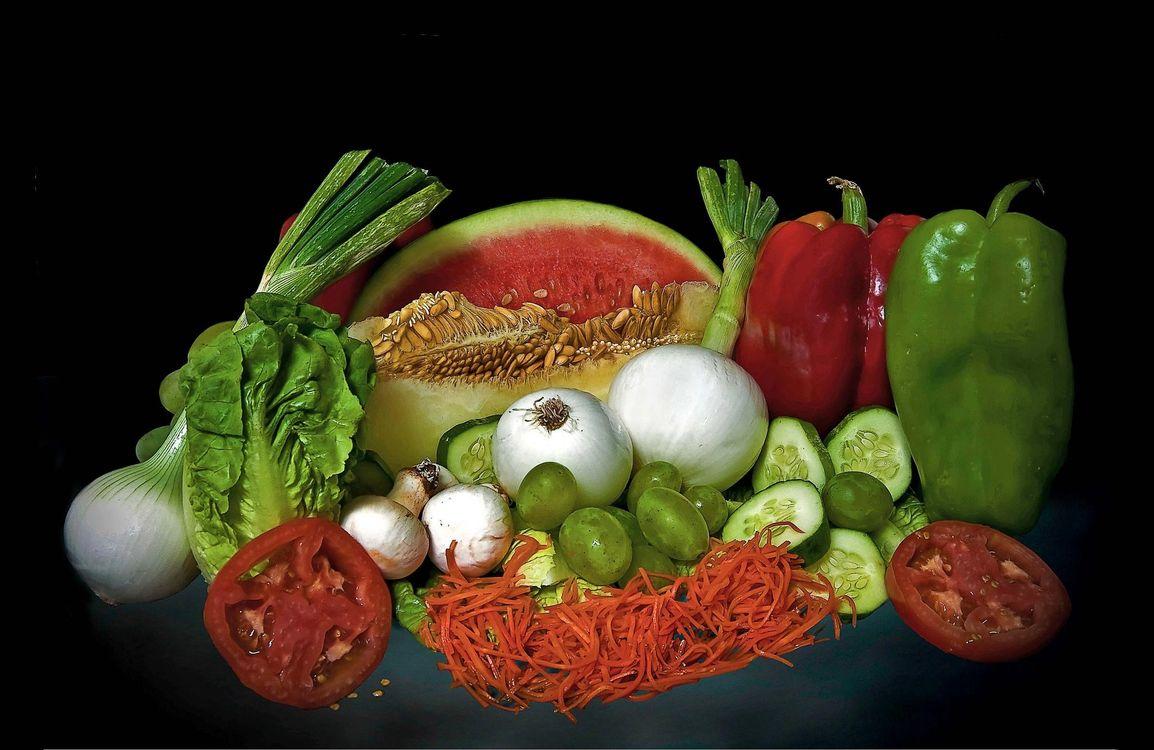Фото бесплатно овоши, фрукты, лук - на рабочий стол