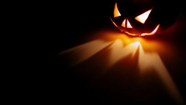Photo free pumpkin, Halloween, light