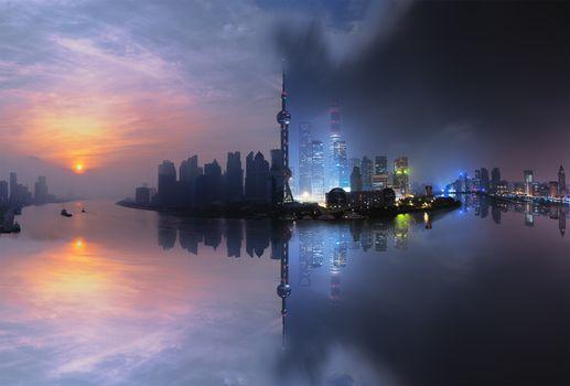 Photo free Shangai, photoshop, photos