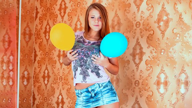 Photo free alto-baily, balloons, sleeves