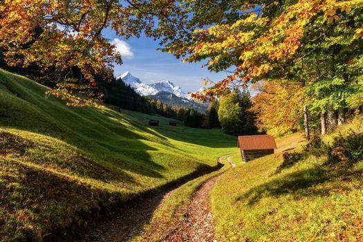 Photo free Bavaria, Germany, autumn