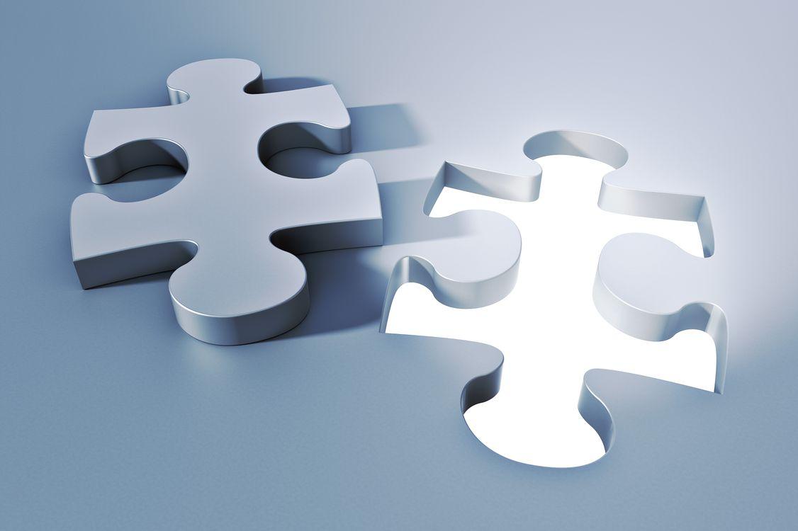 Фото бесплатно головоломка, форма, мозаика, puzzle, shape, mosaic, 3d графика