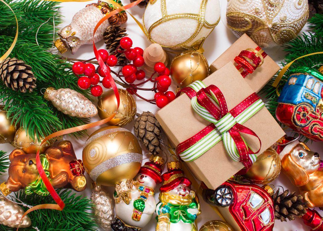 Рождественские игрушки · бесплатное фото