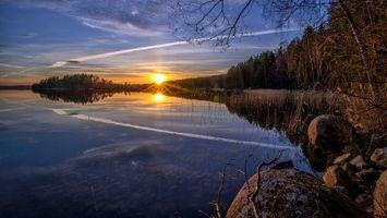 Фото бесплатно пейзаж, финляндия, небо